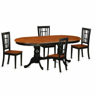 Pilcher Contemporary 5 Piece Dining Set August Grove