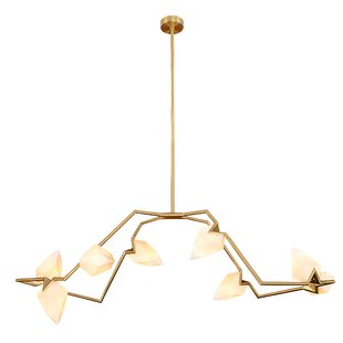 Everly Quinn Markhal 8-Light Sputnik Chandelier