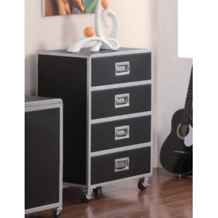 Mapp 4 Drawer Accent Chest by Ebern Designs