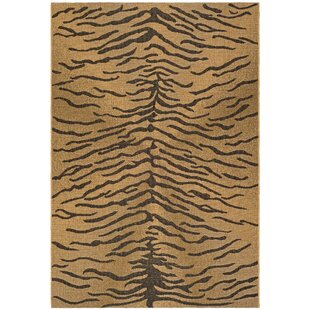 Catori Dark Brown/Natural Indoor/Outdoor Area Rug