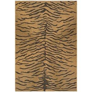 Catori Dark Brown/Natural Indoor/Outdoor Area Rug