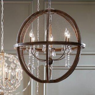 Rosemont 6 Light Globe Chandelier