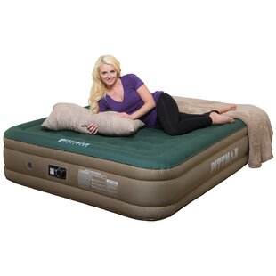Compare Ultimate 16 Air Mattress with Built-in Air Pump By Pittman Outdoors