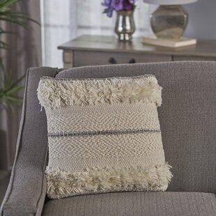 Cerna Wool Throw Pillow