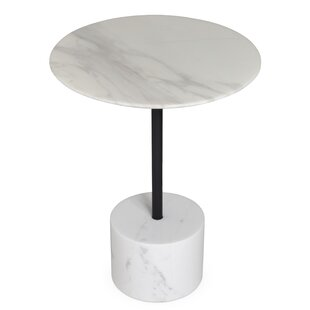 LISA END TABLE MARBLE