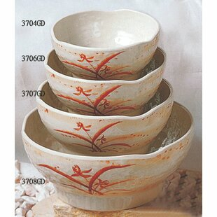 Herrera 10 oz. Melamine Wave Rice Bowl (Set of 12)