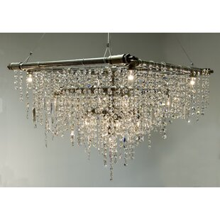 17 Stories Eulalia 13-Light Candle Style Chandelier