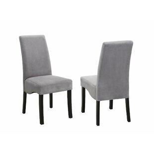 Muthukumar Comfy Upholstered Dining Chair (Set of 2) Red Barrel Studio