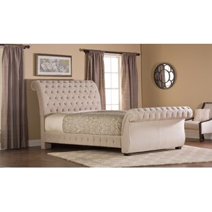 Cyrano Upholstered Sleigh Bed by Willa Arlo Interiors