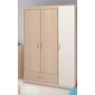 Matos 3 Door Wardrobe Armoire Wayfair
