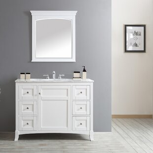 Compare & Buy Manningtree 48 Single Vanity Set with Mirror ByHighland Dunes