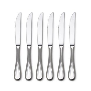 Bravo Stainless Steel Steak Knife (Set of 6)
