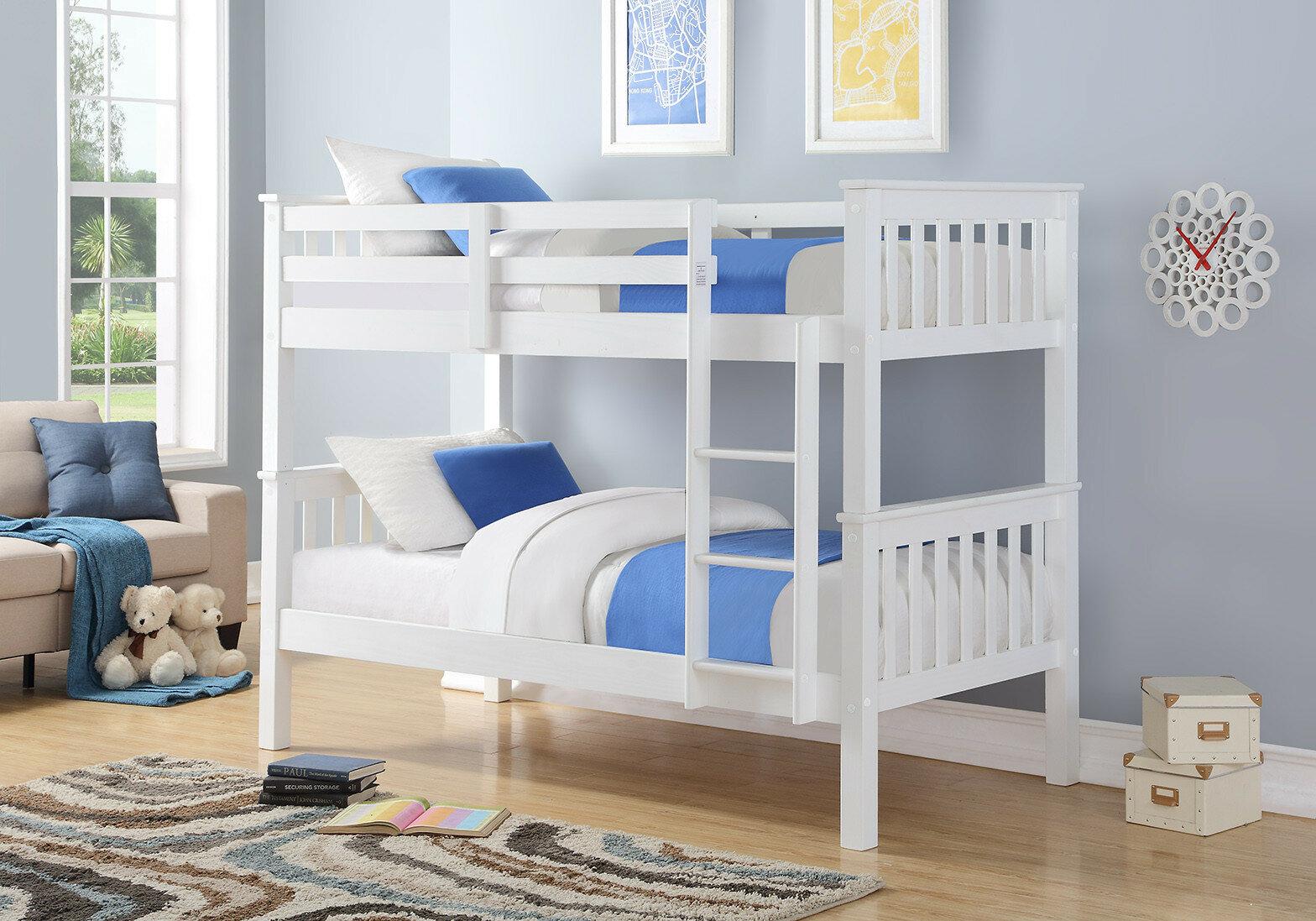 Just Kids Tucker Single Bunk Bed Reviews Wayfair Co Uk