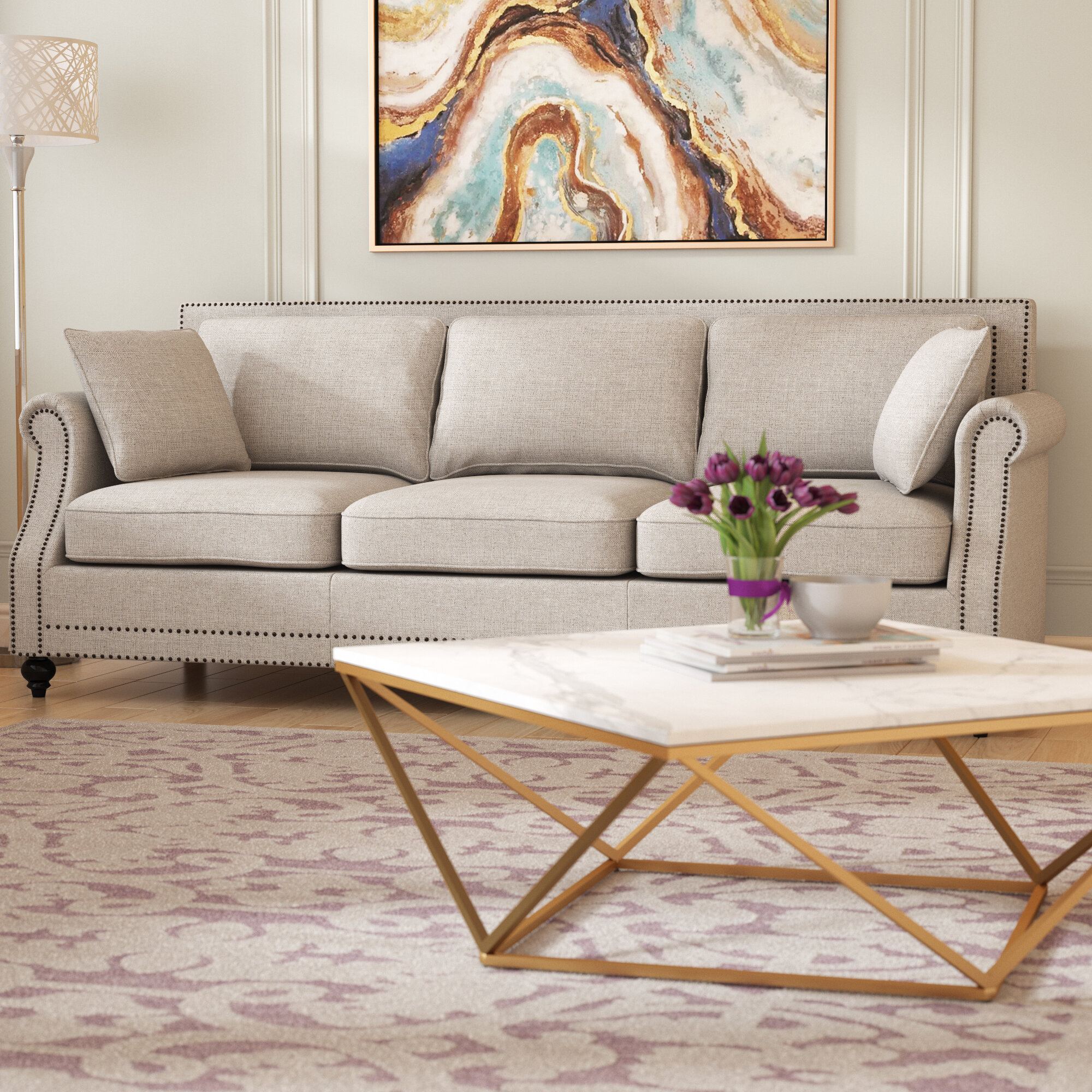 Willa arlo interiors lore sofa reviews wayfair