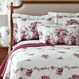 PDK Worldwide Bloomfield Rose Mitered Corner Bedspread