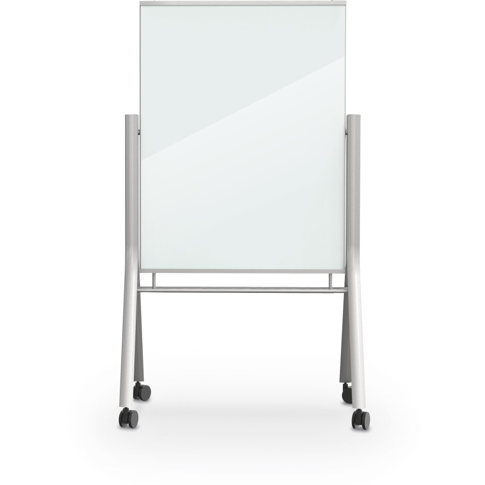 Mooreco Best Rite Visionary Curve Magnetic Free Standing Whiteboard Wayfair