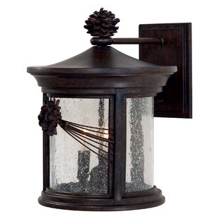 Read Reviews Abbey Lane 3-Light Outdoor Wall Lantern By Great Outdoors by Minka