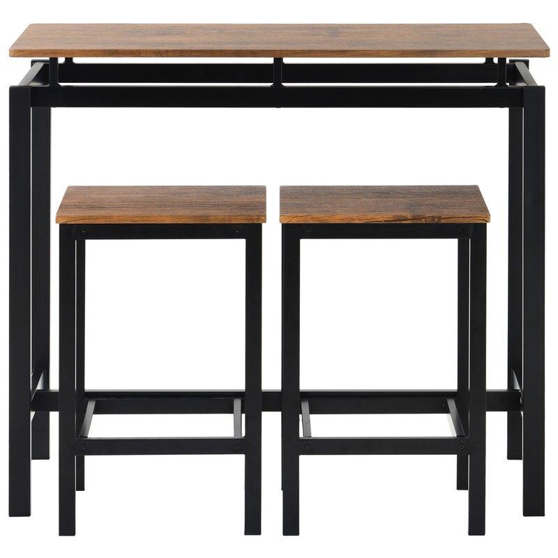 LoftDesigns Essgruppe Fiorentino mit 2 Stühlen