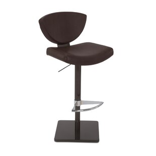 Bliss Adjustable Swivel Bar Stool by Elite Modern