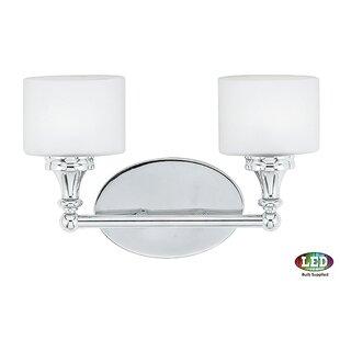 Low priced Ramirez 2-Light Vanity light By Latitude Run