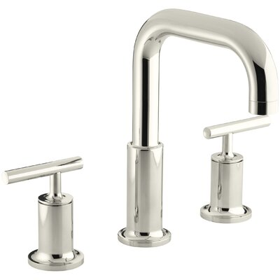 Deck Mount Bath Faucet Trim For High Flow Valve Cross