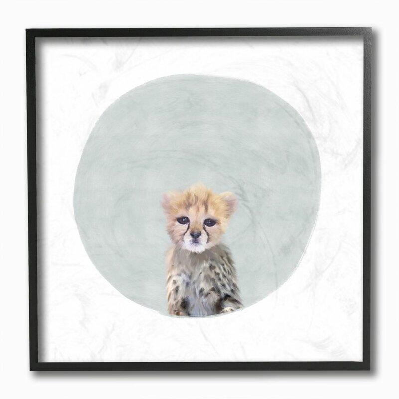 Isabelle Max Kempson Baby Cheetah