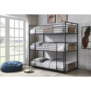 Best Choices Maltby Twin Triple Bed by Harriet Bee Reviews (2019) & Buyer's Guide