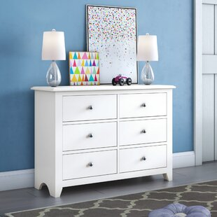 Amesbury 6 Drawer Double Dresser by Grovelane Teen