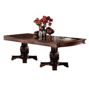 Shields Extendable Dining Table Astoria Grand