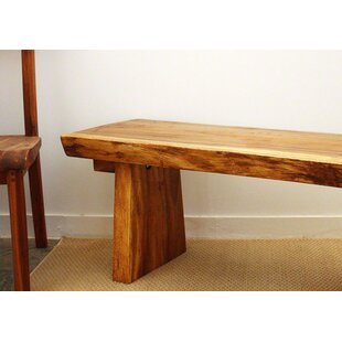 Derringer Wood Bench by Lo..