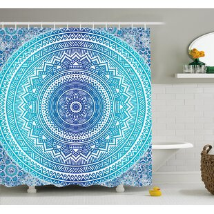 Cort Meditation Ritual Theme Shower Curtain