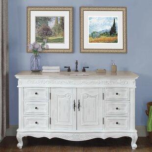 Big Save Haslett 60 Single Bathroom Vanity Set ByAstoria Grand