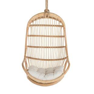 Briaroaks Hanging Rattan Swing Chair by Greyleigh