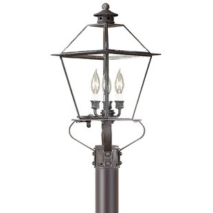 Best Reviews Theodore 3-Light Metal Lantern Head By Darby Home Co