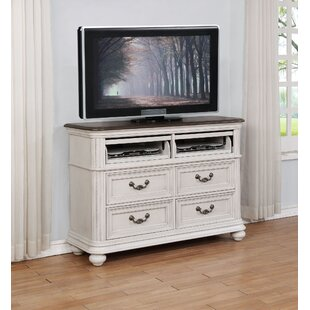 One Allium Way Alisa 4 Drawer Media Chest