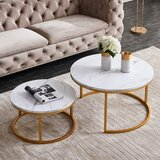 Hammond Frame 2 Nesting Tables by Everly Quinn