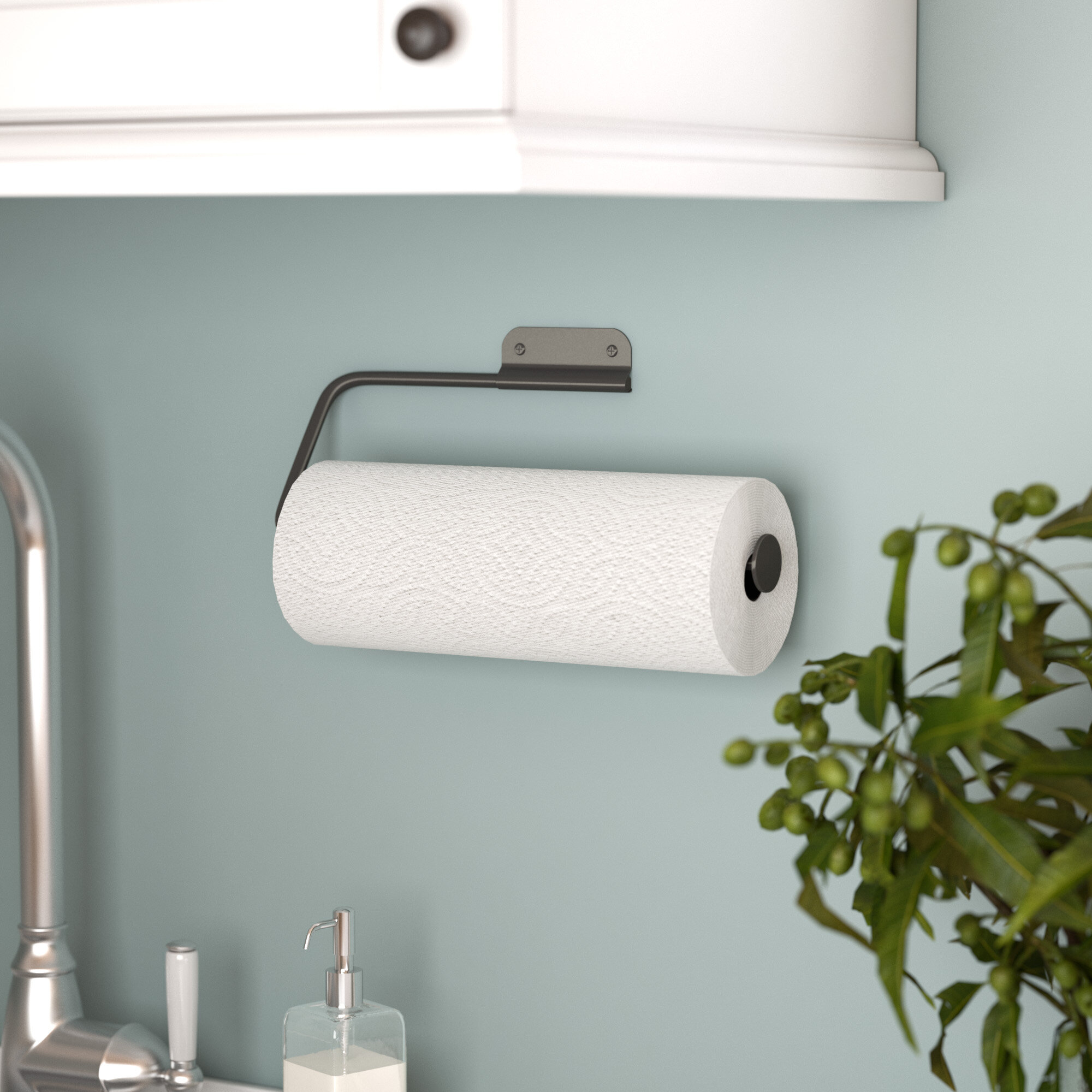 Mint Pantry Wall Mount Paper Towel Holder & Reviews | Wayfair