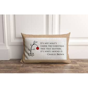 The Holiday Aisle Ferullo Merry Christmas Gnomes Outdoor Rectangular Pillow Cover Wayfair