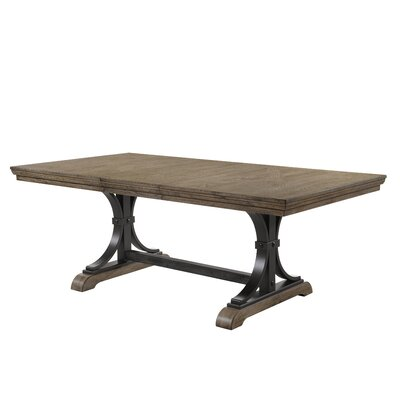 Alena Nailhead Extendable Dining Table