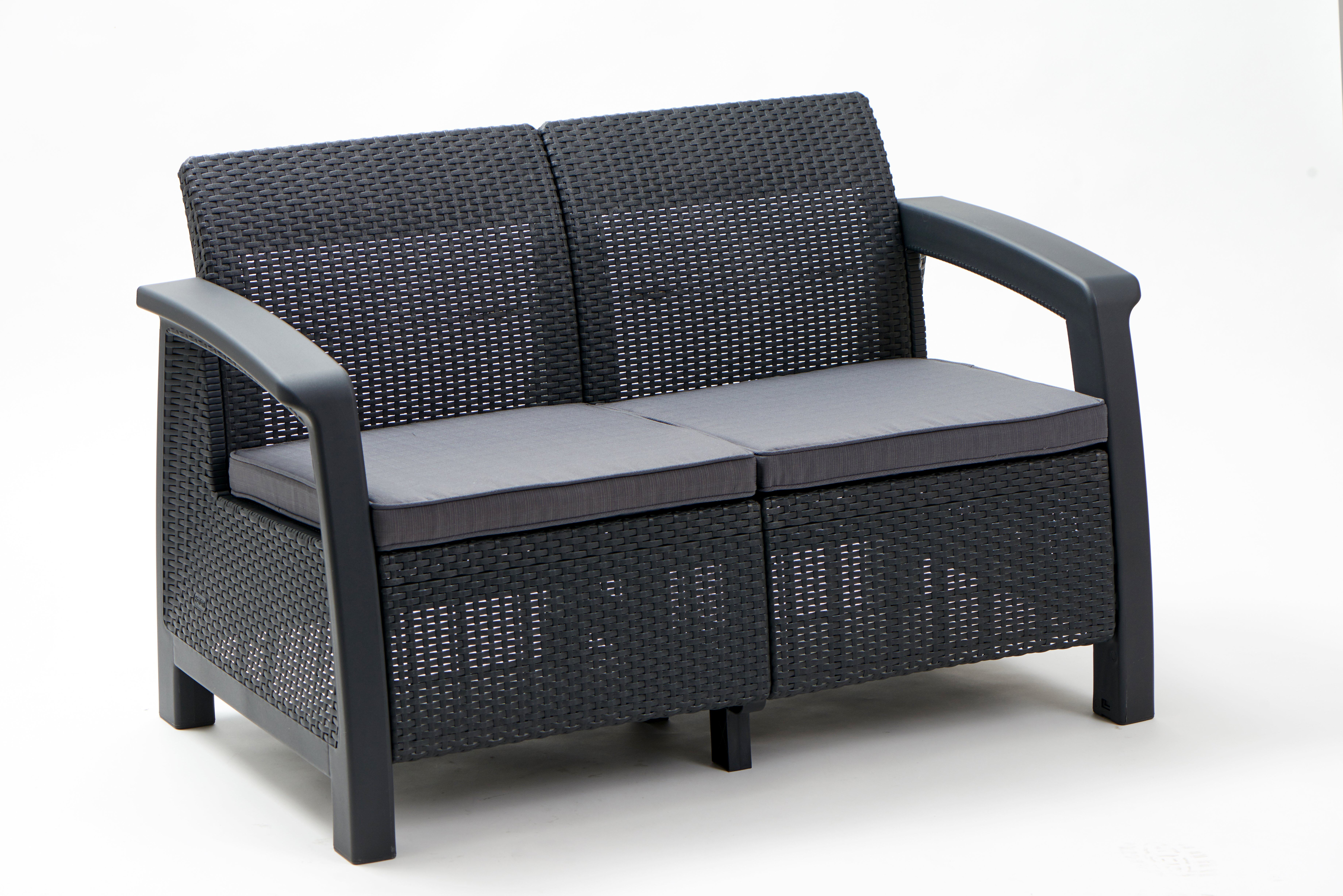 Superieur Berard Patio Loveseat With Cushions