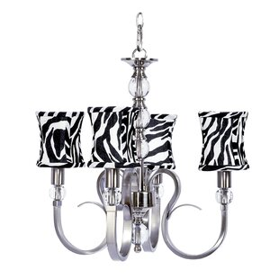 Jubilee Collection Hampton 4-Light Shaded Chandelier