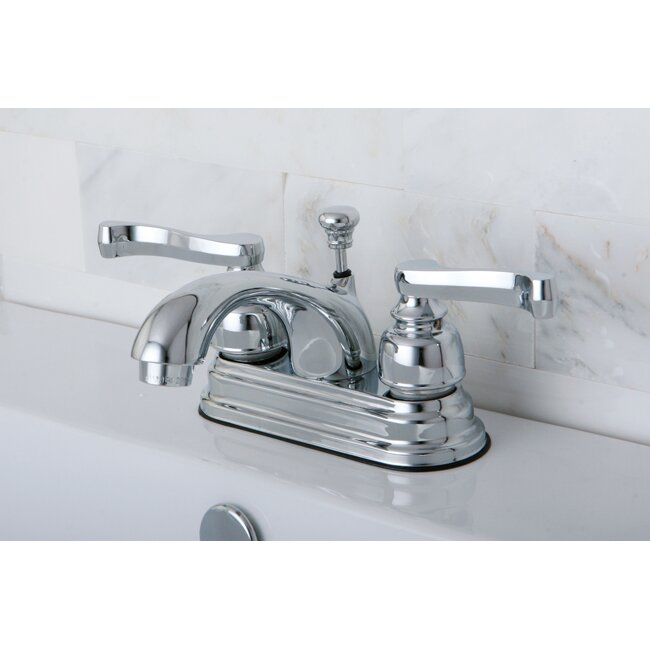 Double Bathroom Sink Faucet kingston brass royale double handle centerset bathroom sink faucet