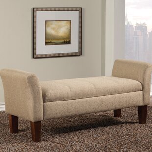 Alcott Hill Davis Upholstered Storage Bench