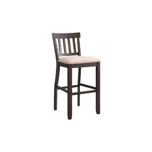 Look for Hot Springs Slat Back 30 Bar Stool (Set of 2) by Three Posts Reviews (2019) & Buyer's Guide