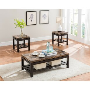 Mercer 3 Piece Coffee Table Set