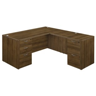 Fairplex 5 Drawers L-Shape Executive Desk
