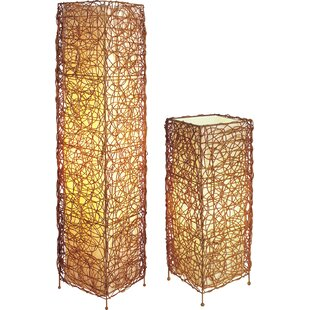 Velma 2 Pieces Table and Floor Lamp Set