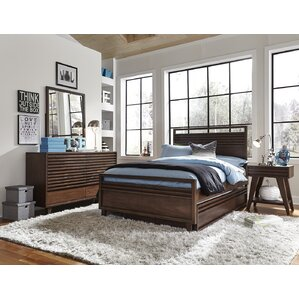 Schuster Complete Panel Configurable Bedoom Set by Brayden Studio