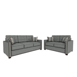 Bakerstown 2 Piece Living Room Set by Red Barrel Studio