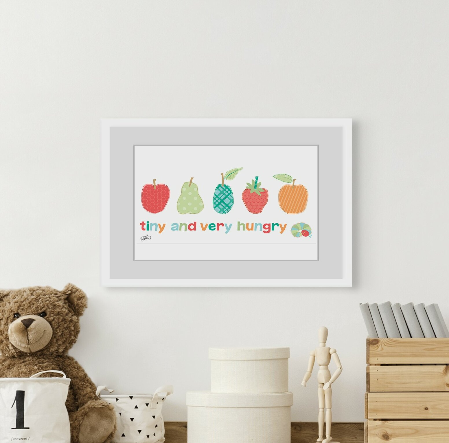 SMALL SIZE Hungry Caterpillar Wall Stickers